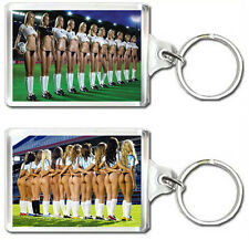 FOOTBALL GIRLS KEYRING LLAVERO