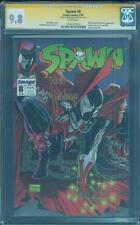 Spawn 8 CGC SS 9.8 Todd McFarlane Top 1 Spider Man swipeAlan Moore Frank Miller