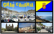 GRAN CANARIA - SOUVENIR FRIDGE MAGNET - BRAND NEW -  NICE LITTLE GIFT
