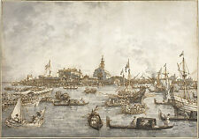 Canaletto Reproduction: Ascension Day Festival at Venice - Fine Art Print