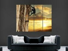 ROCK CLIMBING  ART PICTURE POSTER   GIANT  (G191)