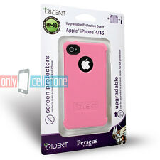 NEW Retail Trident Pink Perseus Silicone Gel Cover Case for Apple iPhone 4 4S