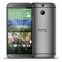 HTC One M8 32GB Gunmetal Gray AT&T (Factory Unlocked) -Windows -Smartphone -N.O