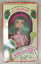Lil Lollypops TUTIE FRUITIE CUTIE POP mib vintage Strawberry Shortcake clone