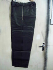 VINTAGE 40'S BELSTAFF VULCANISED RUBBER MOTORCYCLE TROUSERS SIZE 32-36