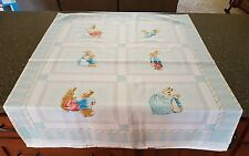 Cotton Tale Panel 35x43 Beatrix Potter QT Peter Rabbit Crib Top