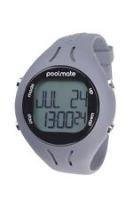 NEW Swimovate PoolMate 2 GREY Swimming Computer Lap Counter Watch Pool Mate