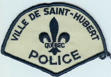 VILLE DE SAINT-HUBERT QUEBEC CANADA POLICE PATCH