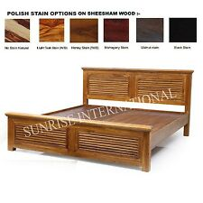 Harley Wooden Queen Size Double Bed   !