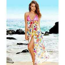 BRAND NEW BEACH BUNNY BIKINI PARADISE FLEUR SILK MAXI SMALL ALL SIZES COVER UP