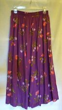 Sz M/L Pinkish/Purple Floral Skirt by JoRo Fashions® Ladies Womens