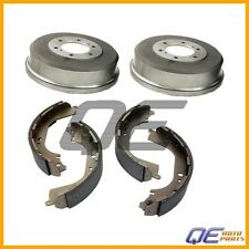 2 Rear Brake Drums & Brake Shoe Kit For: Nissan QX4 D21 Pathfinder Pickup Xterra