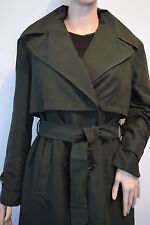 *NEW* PRIMARK LADIES KHAKI MAC BELTED COAT TRENCH PARKA SPRING OVERCOAT 16/44