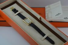 AUTH Hermes Nantucket Yellow, AU750 Gold, SimpleTour Ladies Watch