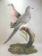Extinct Passenger Pigeon Original Wood Carvings