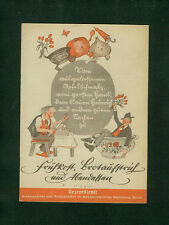 Frühkost Brotaufstrich Abendessen Rezepte Reichsausschuß Volkswirtschaft 1940