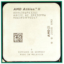 AMD Athlon II X3 435 ADX435WFK32GI (3 Núcleos, 2.90 GHz, 2.0 GHz HT) Socket AM3