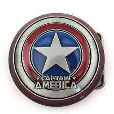 Belt Buckle Captain America Winter Soldier * Movie Comic Book Marvel Superhero *