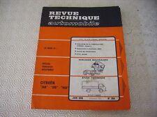REVUE TECHNIQUE CAMION CITROEN 350 - 370 - 450