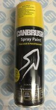 CANBRUSH Spray Paint 400ml YELLOW Auto DIY Bike Wood Metal Aerosol C12