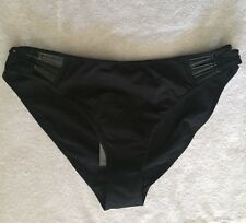Marlies Dekkers UNDRESSED 52 Brief 5 Collection Panty XL Black NEW w/ Tags $59