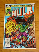INCREDIBLE HULK #274 VOL1 MARVEL COMICS AUGUST 1982