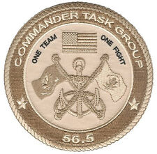 CTG 56.5 Kuwait Persian Gulf desert W5024  USCG  PSU RAID Coast Guard Navy patch