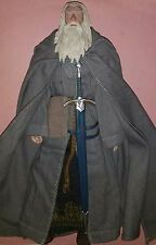 Sideshow GANDALF THE GREY 1/6 Scale Action Figure LOOSE LOTR Lord Rings Hobbit