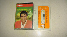 elvis gold records 4 music cassette    FAST DISPATCH