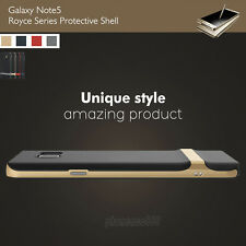 Genuine Rock Hybrid Shockproof Soft Rubber Case Cover for Samsung Galaxy Note 5