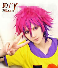No Game No Life Sora Short Straight Costume Wig Anime Cosplay Hair Full Wigs