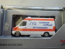 Herpa Mercedes Benz Sprinter Feuerwehr Stuttgart Rettungsdienst OVP Somo (9)
