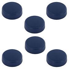 6er Set Ersatz Schraub Deckel für Wasser Trinkflaschen aus Tritan eckig / rund