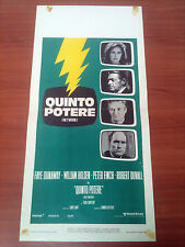 QUINTO POTERE locandina poster Peter Finch William Holden Robert Duvall Network