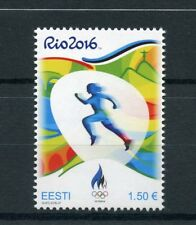 Estonia 2016 MNH Summer Olympic Games Rio 2016 1v Set Athletics Olympics Stamps