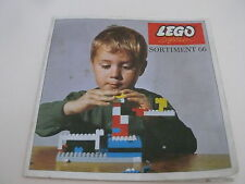 Lego catalogue de 1966 / catalog from 1966 (3158-ty)