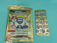 Panini Adrenalyn XL FIFA 365 2017 Mega Starterpack + 10 Booster Trading Cards