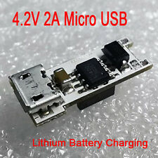 Mini 4.2V 2A Micro USB 18650 Lithium Battery Charging Board LED Charger Module