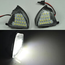 2x Error Free LED Side Mirror Puddle Light Vw Golf 5 Mk5 MkV passat b6 Jetta Eos