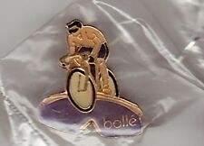 pin's neuf  Cyclisme Lunettes Bolle Velo bicyclette Maillot jaune Velo cycling