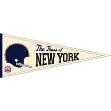 Vintage Titans of New York (Jets) NFL Traditions Throwback Wool Pennant