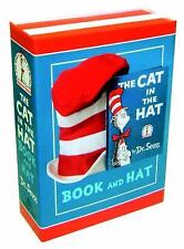 Beginner Books: The Cat in the Hat Book and Hat by Dr. Seuss (2012, Picture...