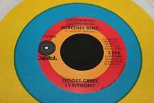 Goose Creek Symphony Mercedes Benz b/w Rush On Love 45 From Co Vault Unopen Box*
