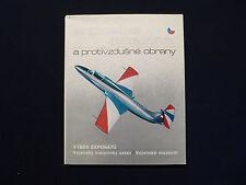 Ausstellung Luftstreitkräfte und Luftabwehr Tschechoslowakei, Prag um 1980