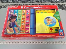 Rare 1991 Mattel See 'N' Say electronic   Book Console Learning System
