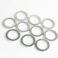 SET OF 10 OIL DRAIN PLUG CRUSH WASHER GASKETS FOR HYUNDAI AND KIA
