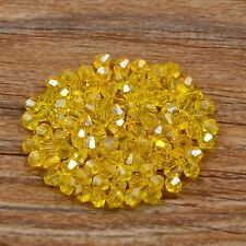300 Swarovski 4mm Bicone Loose crystal beads color&quantity optional (55 colors)