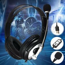 3.5MM Wired Stereo Gaming Headset Headband Headphone with Mic For PC Laptop