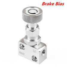 Silver Adjustable Brake Proportioning Bias Valve Knob Style Suit Disc Drum Brake