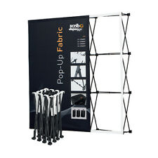 370 CM Wide Custom Printed Pop-up Fabric Stand – Tradeshow, Exhibitions Displays